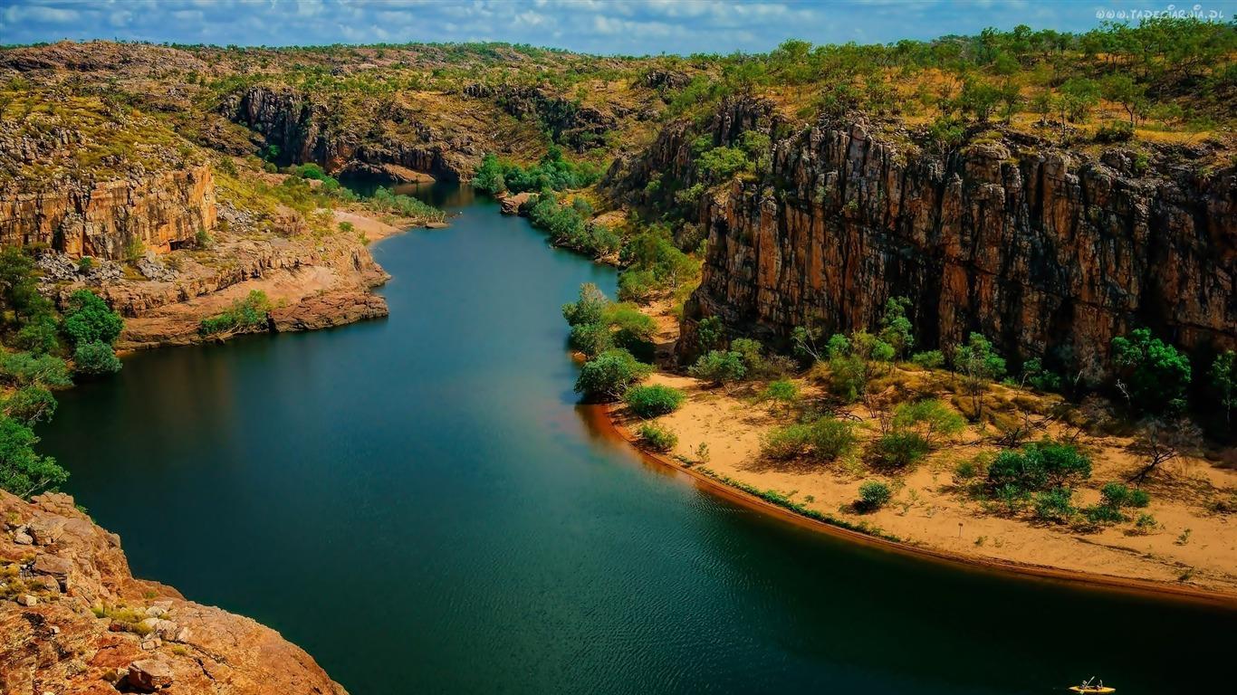 Nitmiluk National Park Australia Nature Hd Wallpaper Preview