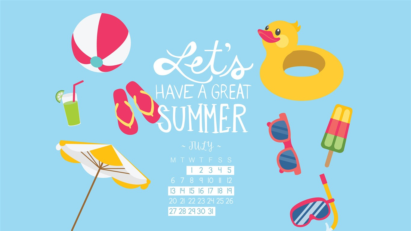 Lets_Have_A_Great_Summer-July_2015_Calendar_Wallpaper2015.7.2