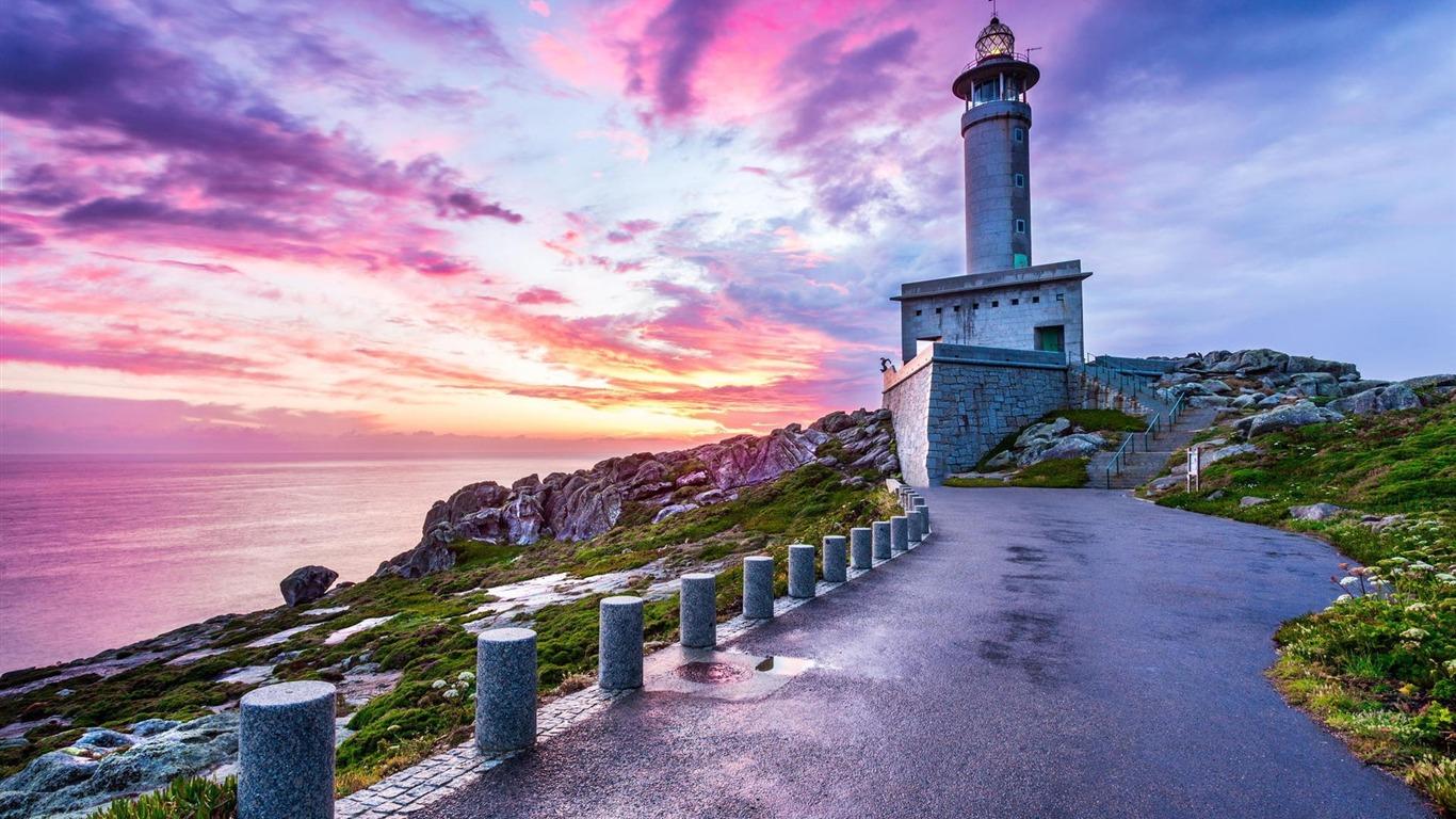 プンタnarigaスペイン灯台 Hd写真撮影の壁紙プレビュー 10wallpaper Com