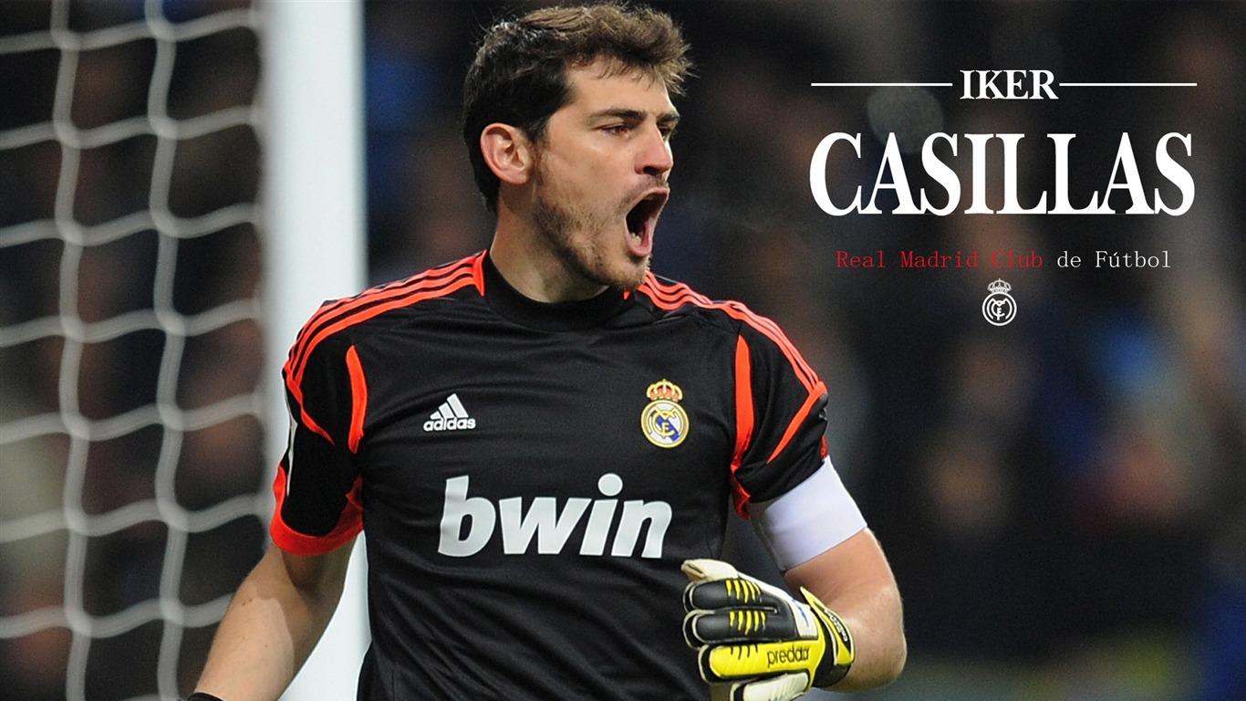 Sports Real Madrid Star Iker Casillas HD Wallpaper 01