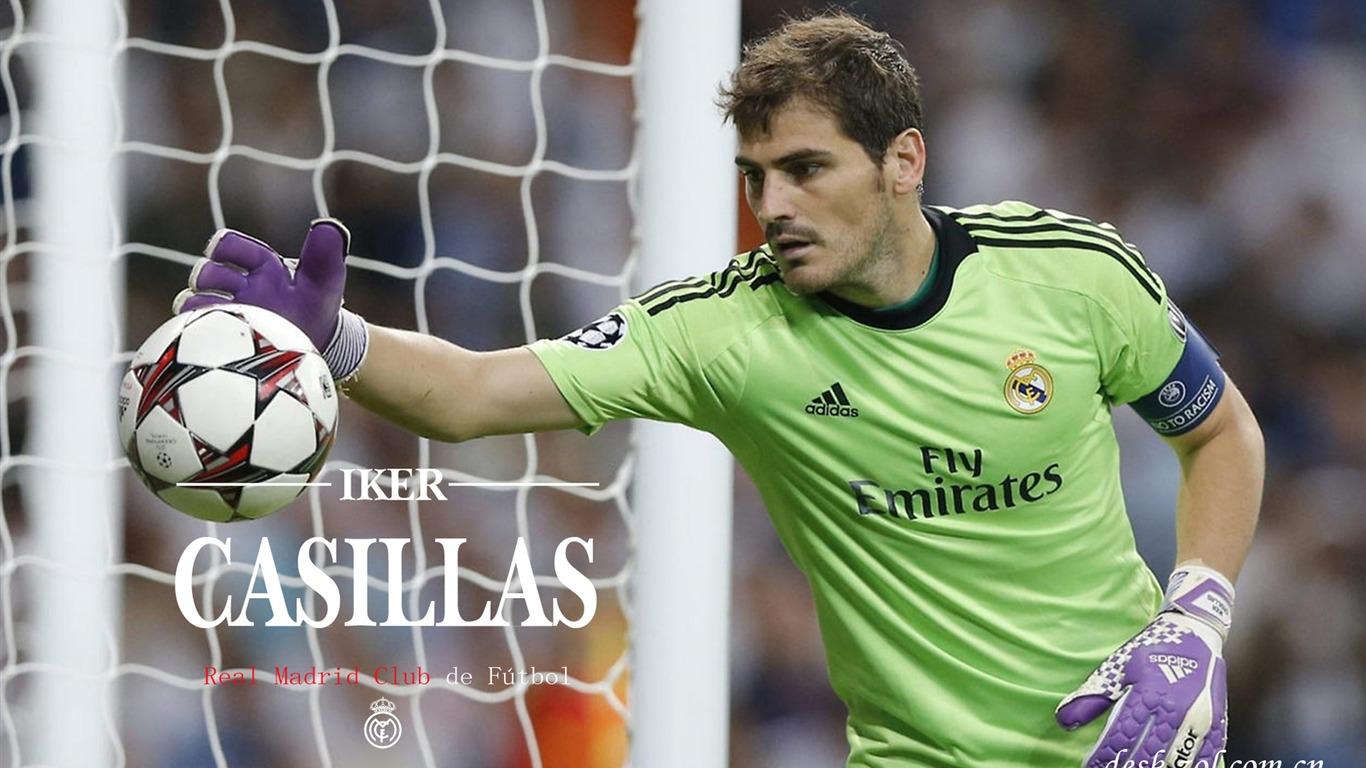 Sports Real Madrid Star Iker Casillas HD Wallpaper 09