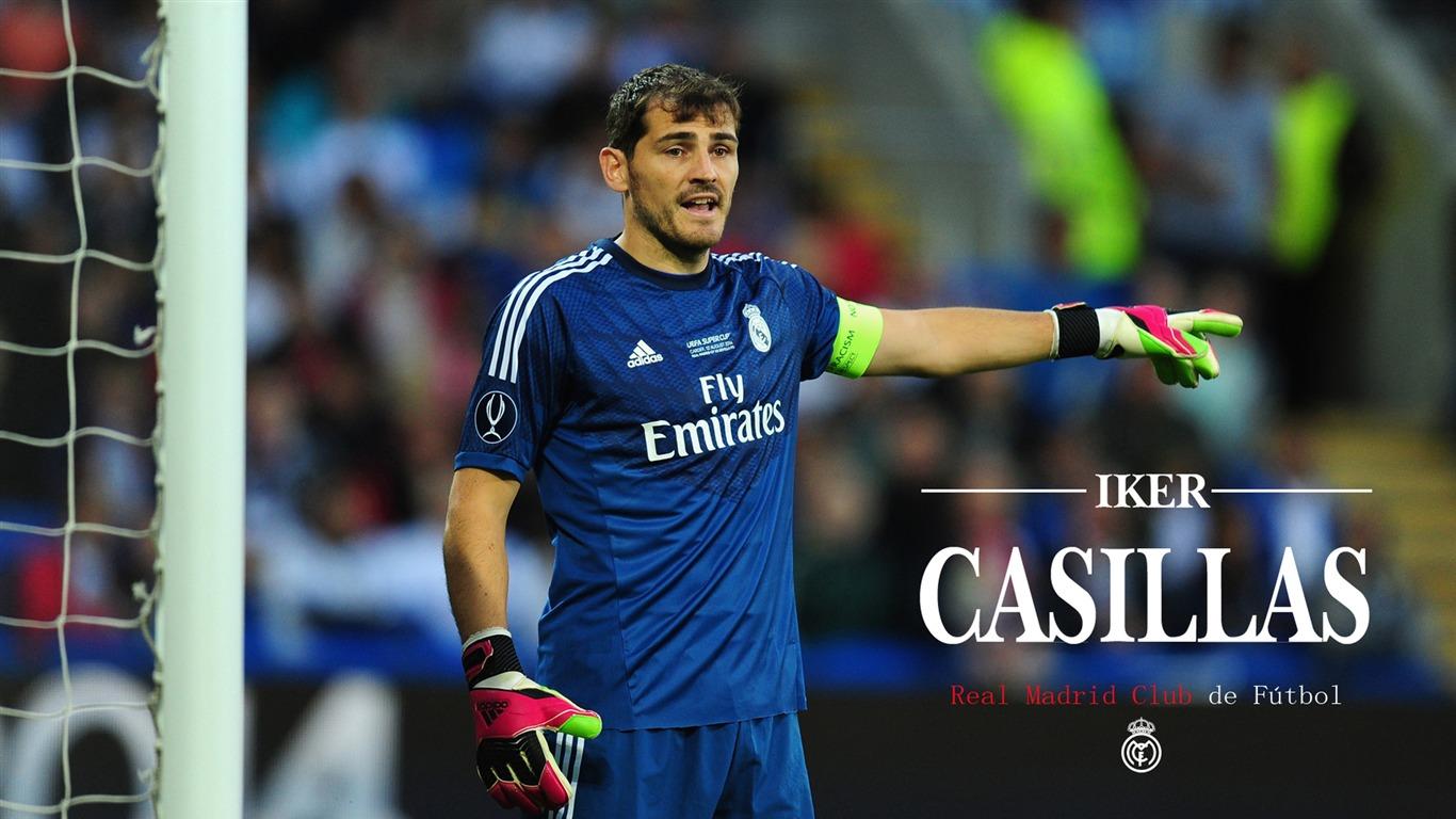 Sports Real Madrid Star Iker Casillas HD Wallpaper