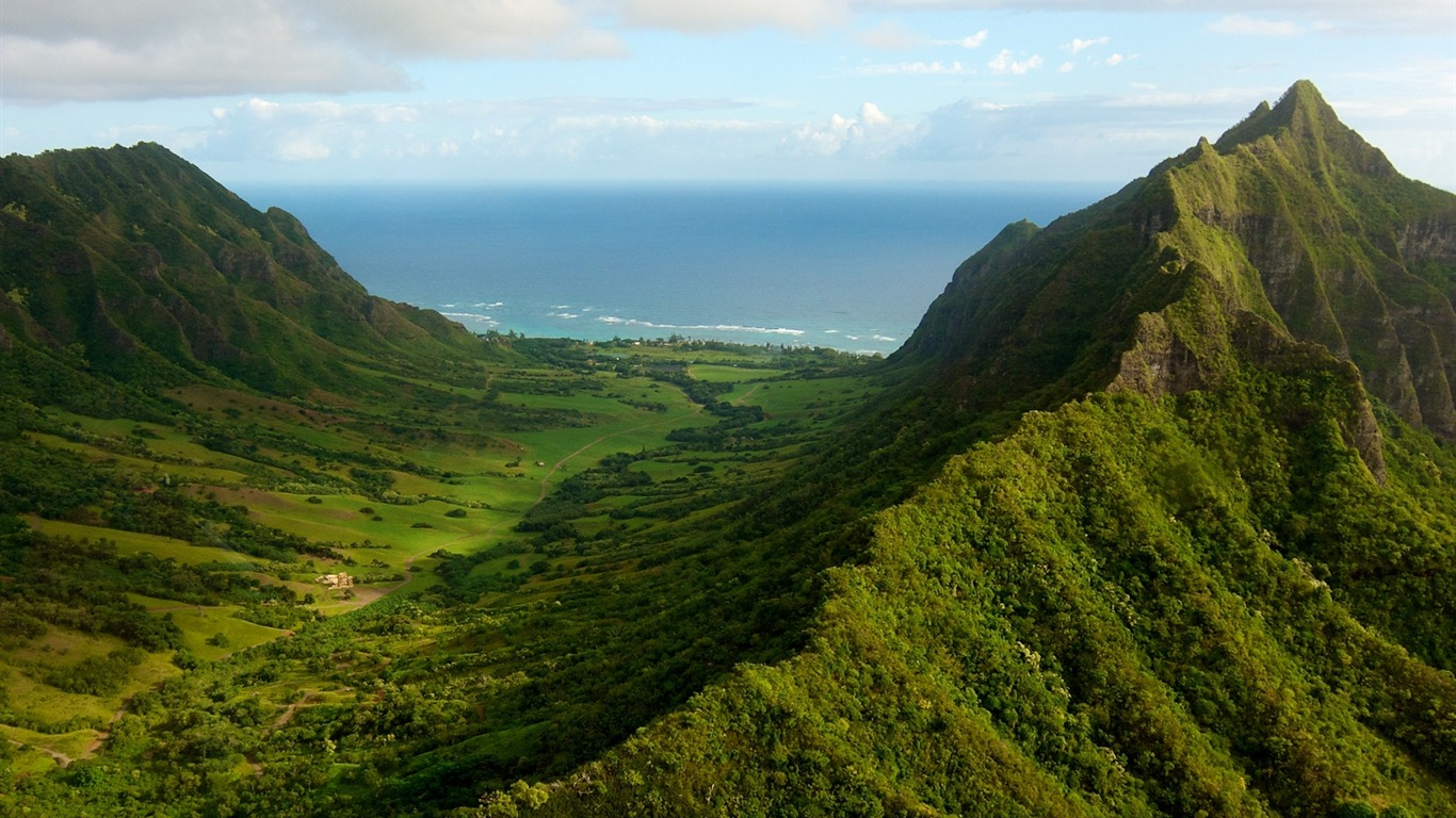 oahu_valley-Nature_HD_Wallpaper