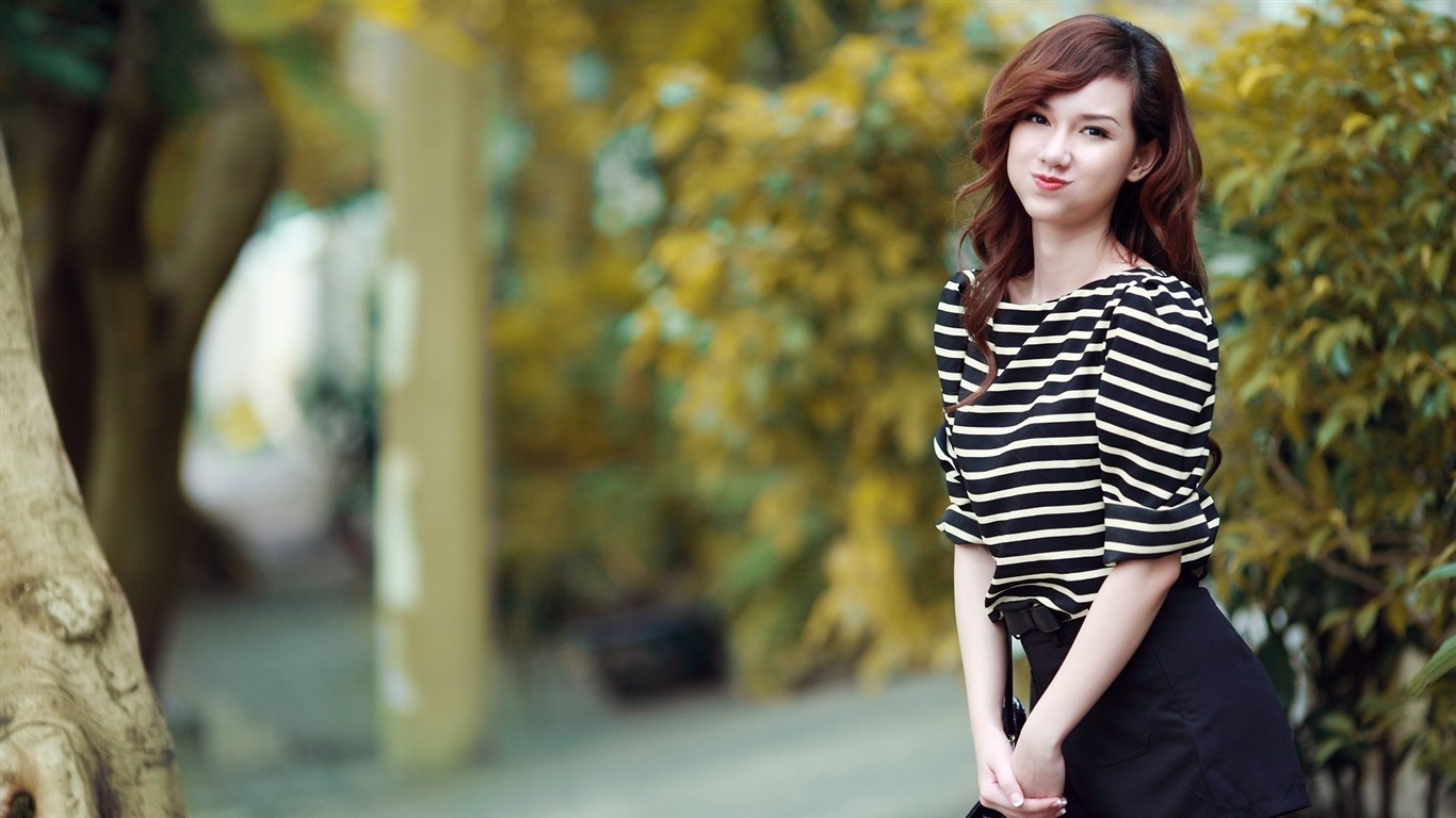 cute girl asian model-Photo HD Wallpaper Preview
