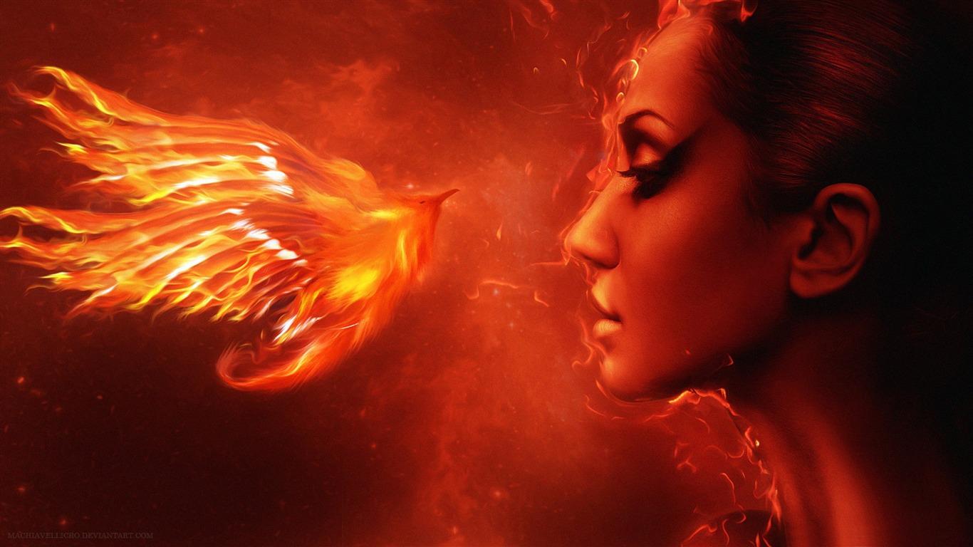 Phoenix Beaute Fond D Ecran Hd Apercu 10wallpaper Com