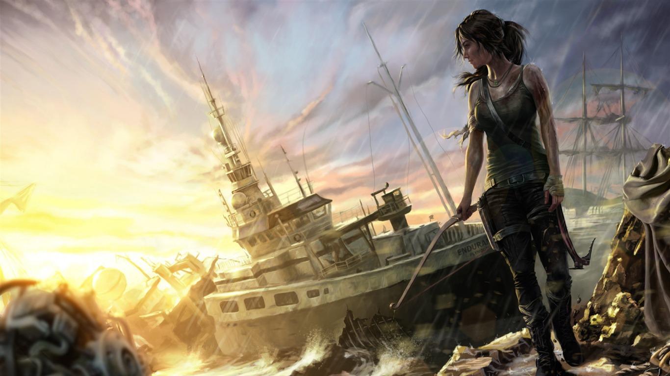 Tomb Raider Lara Croft Game Fondos De Pantalla Hd 12