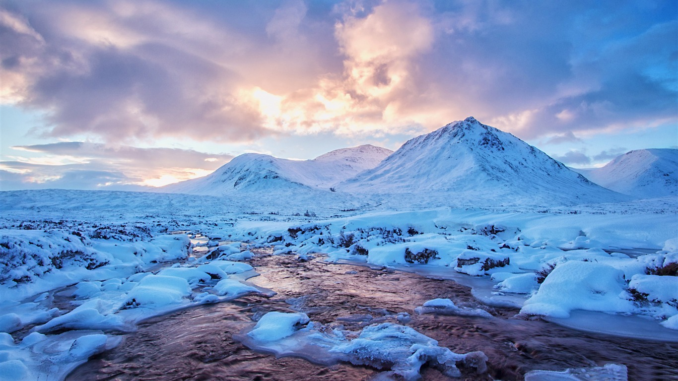 West Highlands Scotland Hd Widescreen Wallpaper Preview