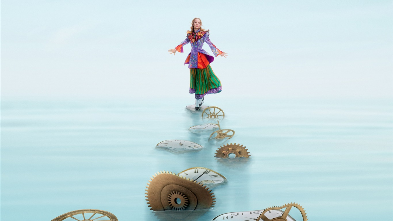 Alice Through The Looking Glass Movie Poster Fondo De