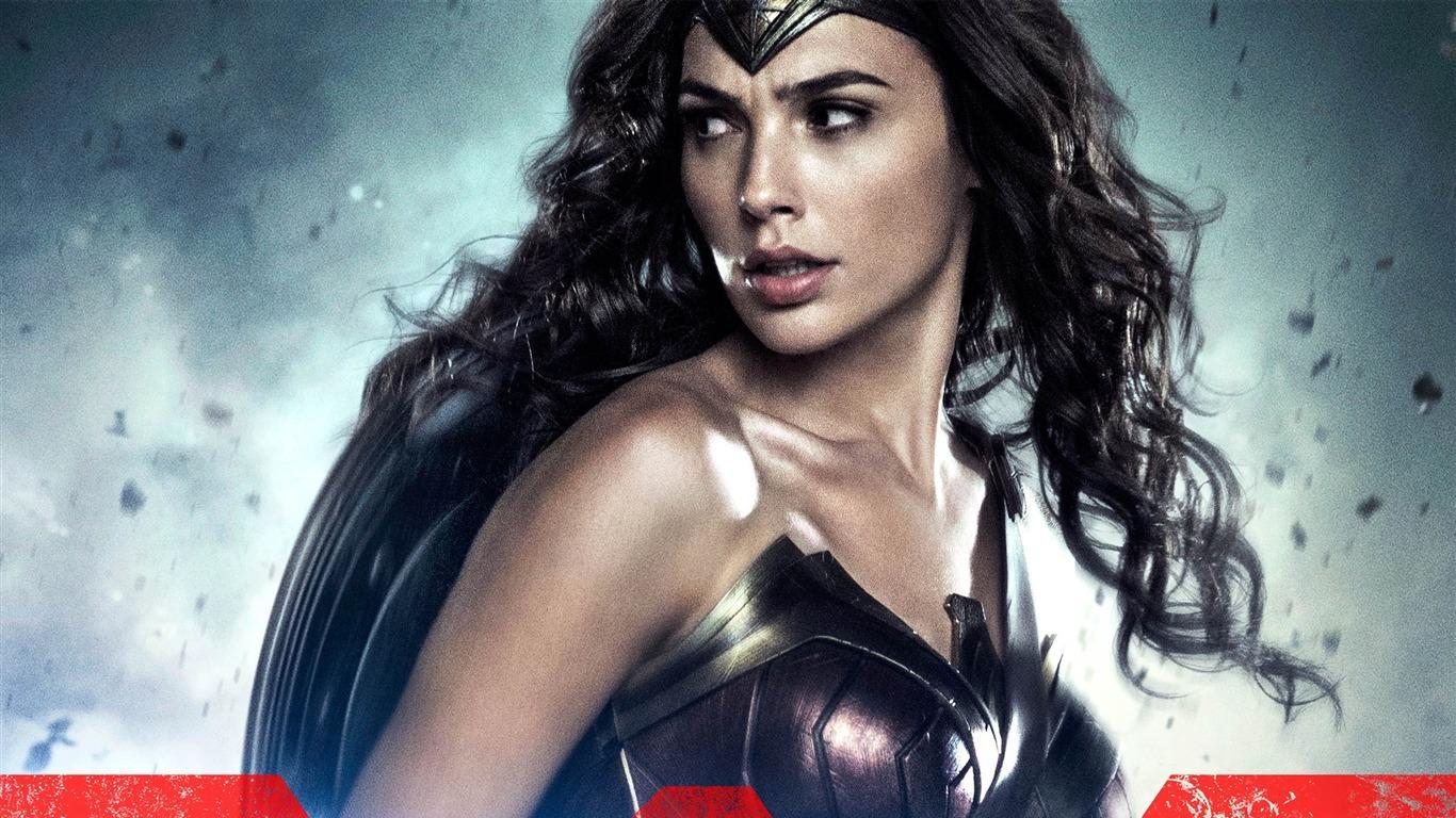 Batman V Superman Wonder Woman Movie Posters Hd Wallpaper Preview