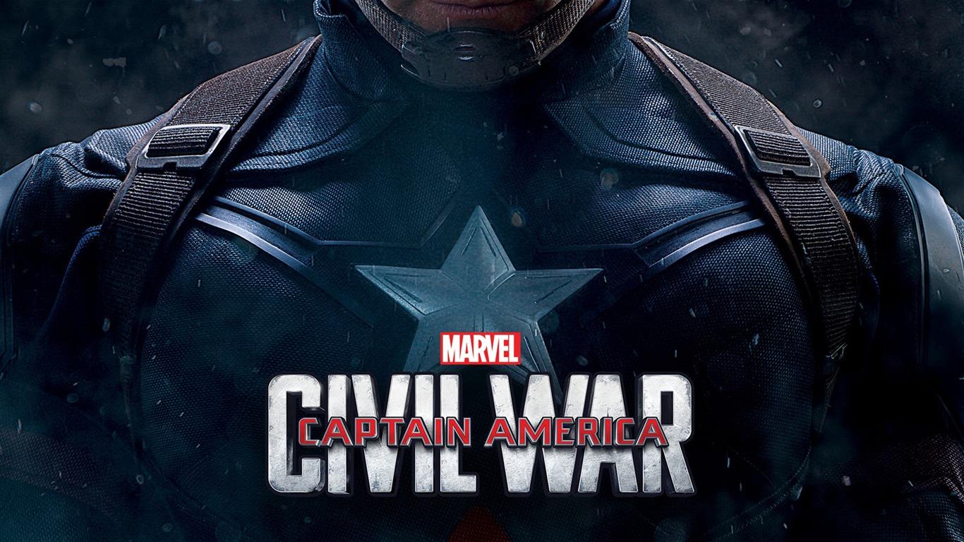 キャプテン アメリカの内戦2016 Hdビデオの壁紙プレビュー