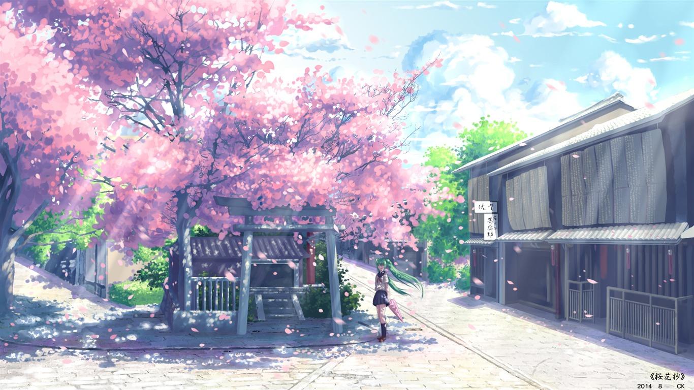 Cute Anime Character Theme Desktop