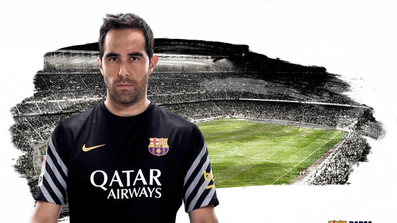 Claudio Bravo-2015-2016 FC Barcelona HD Wallpaper Preview