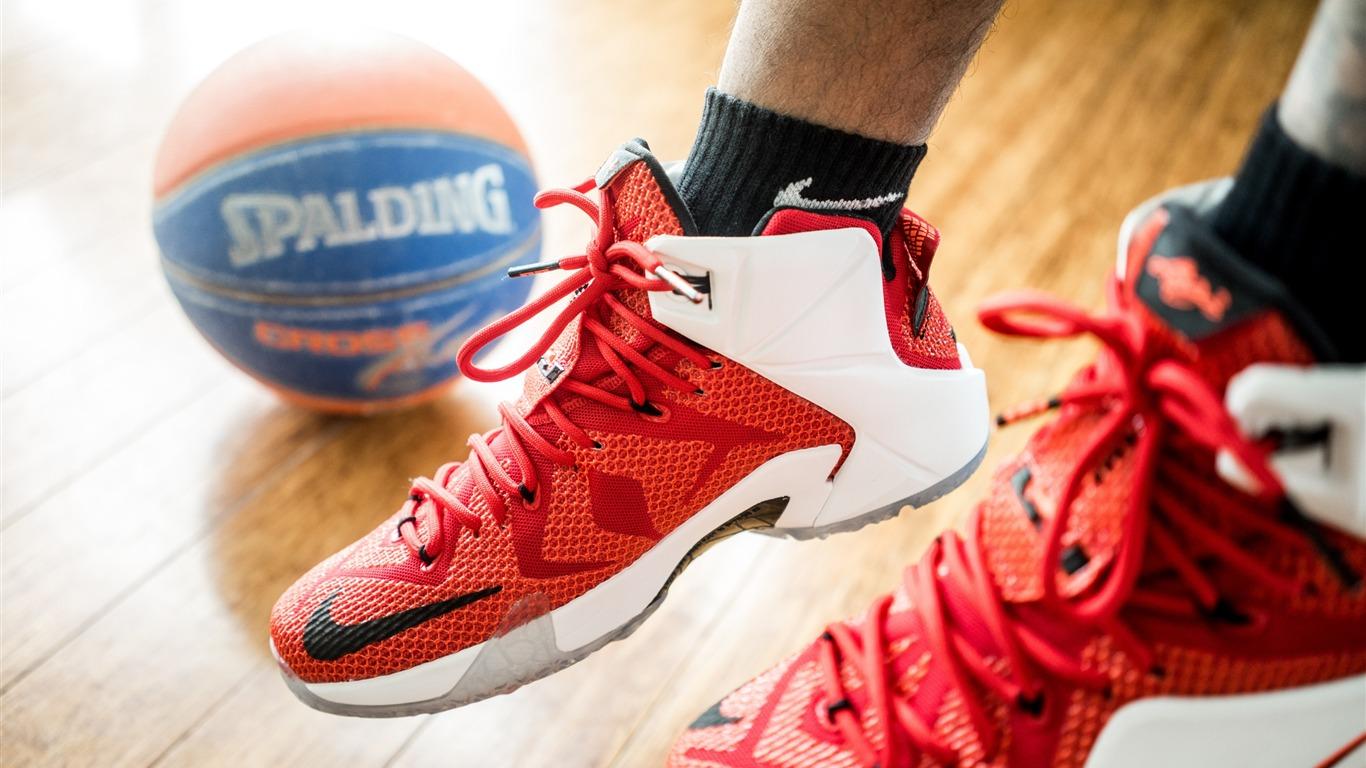 靴ボールナイキスポルディングをレブロン スポーツをテーマにした壁紙プレビュー 10wallpaper Com