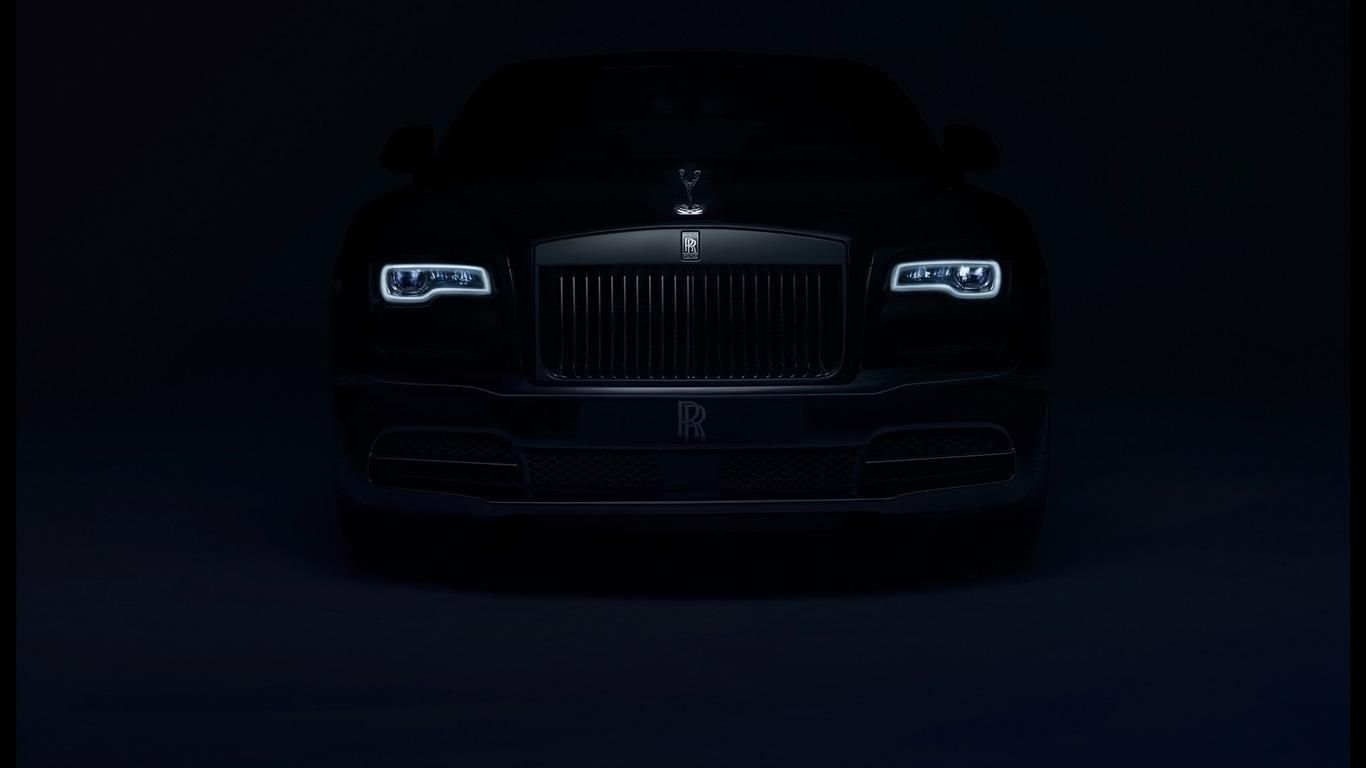2016 Rolls Royce Badge Noir Auto Hd Fond Décran Aperçu