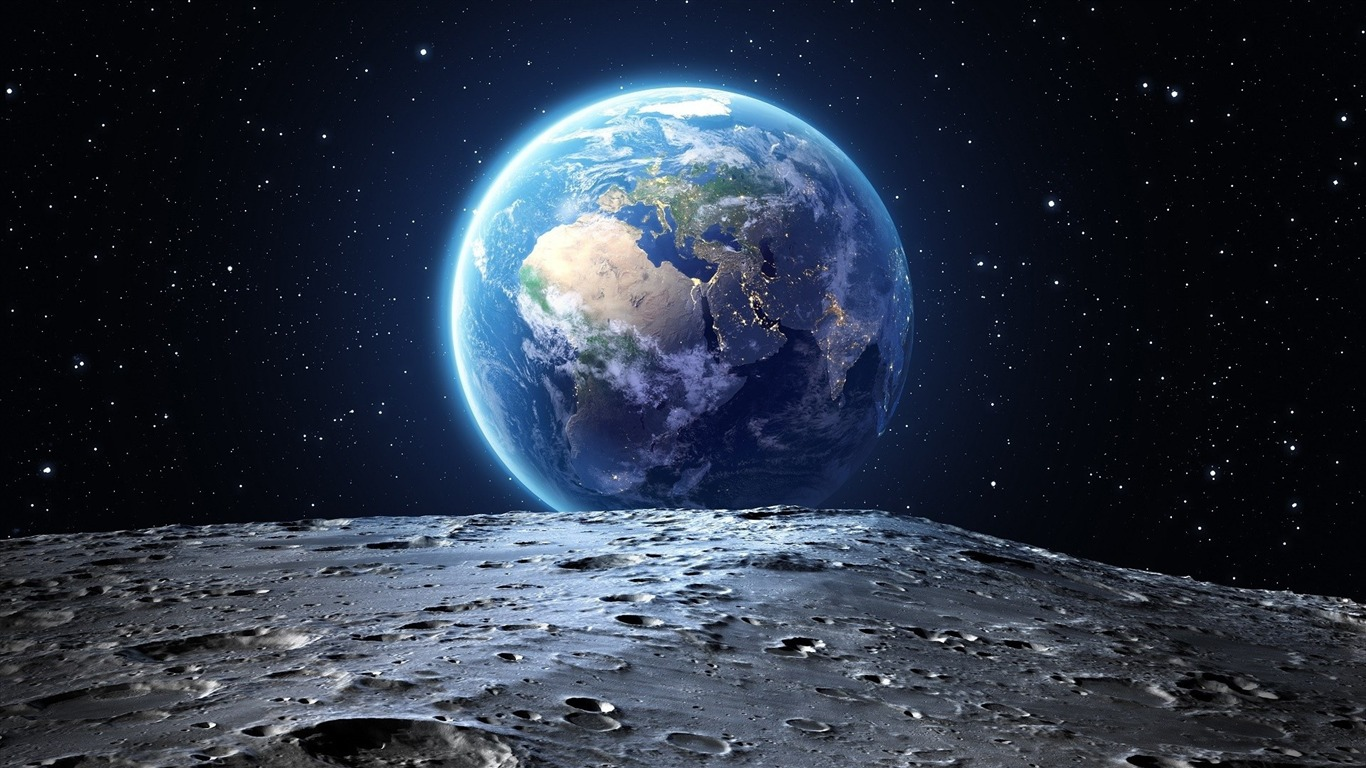 Planete Terre Espace Hd Theme Fonds D Ecran Apercu