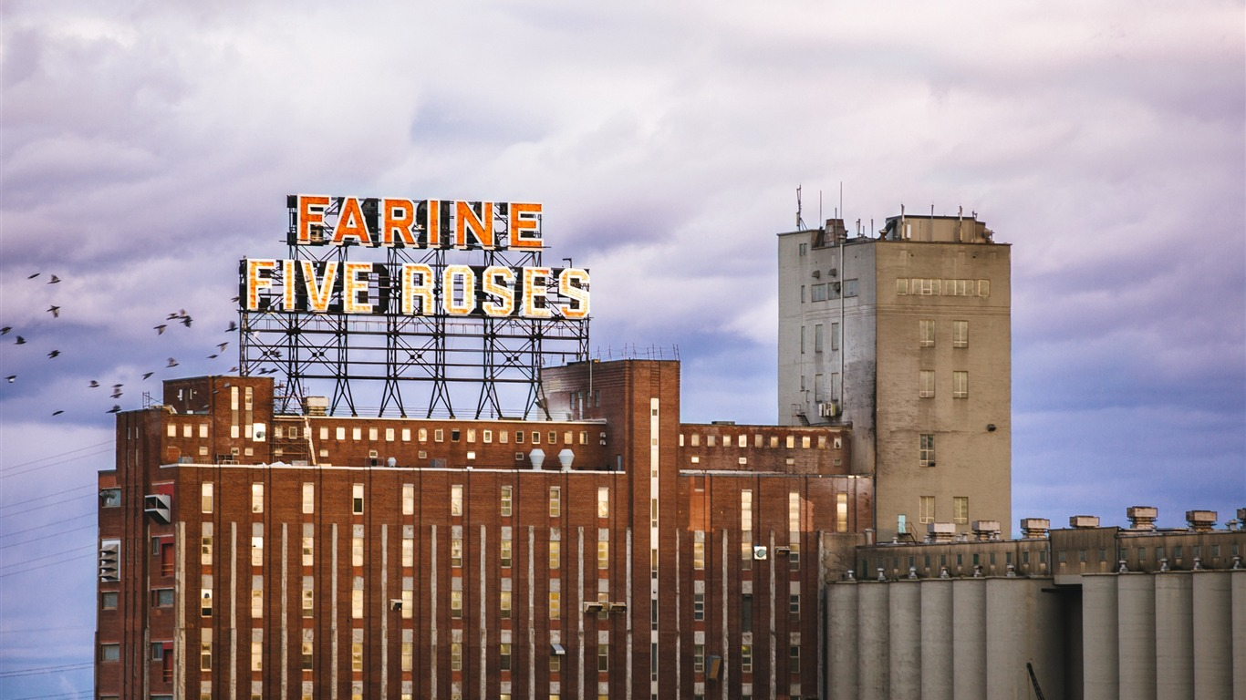 Farine Five Roses Montreal Cities Fondo De Pantalla Hd