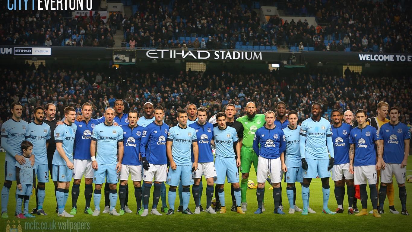 Fondo De Pantalla De Manchester City 1 0 Everton 2016 Fútbol