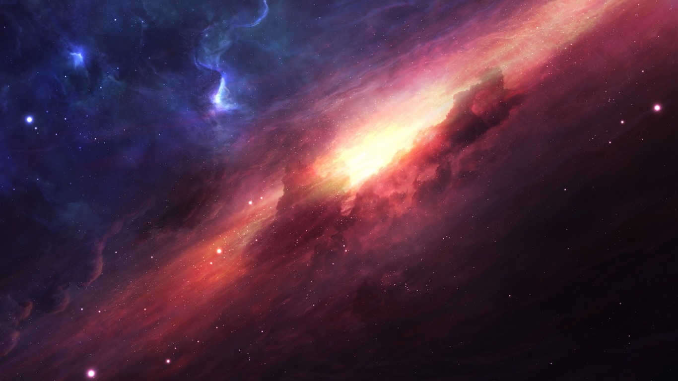 Galaxy Digital Space Universe Cosmic Nebula-Haute Qualité HD Fond d'écran