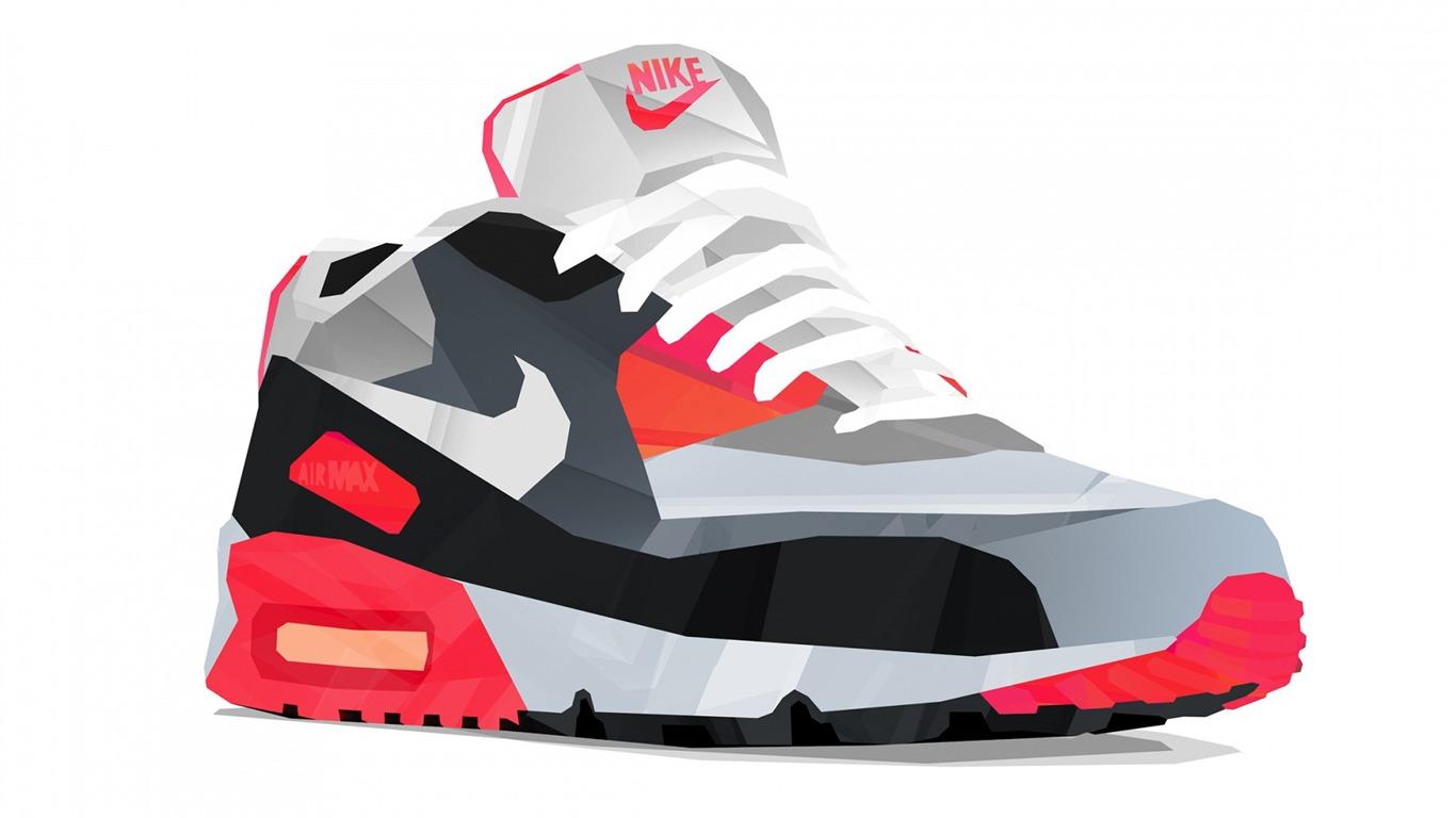 Nike Air Max 90 Vector Art Design Hd Fond D écran Aperçu
