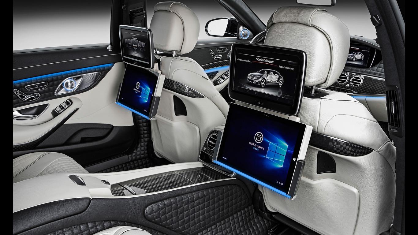 2015 Brabus Mercedes Maybach 900 Car Hd Wallpaper 17 Avance