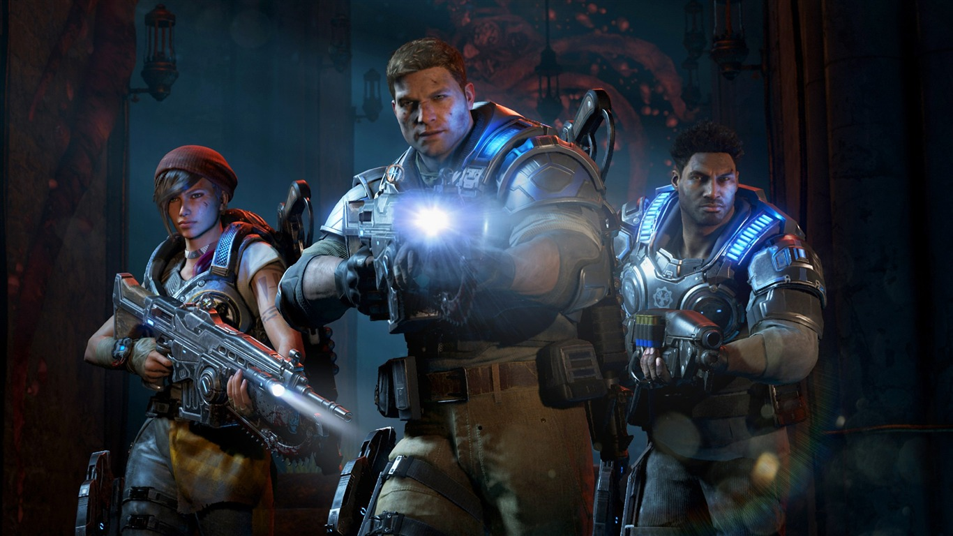 Gears Of War 4 2016 Game Posters Hd Wallpaper Preview