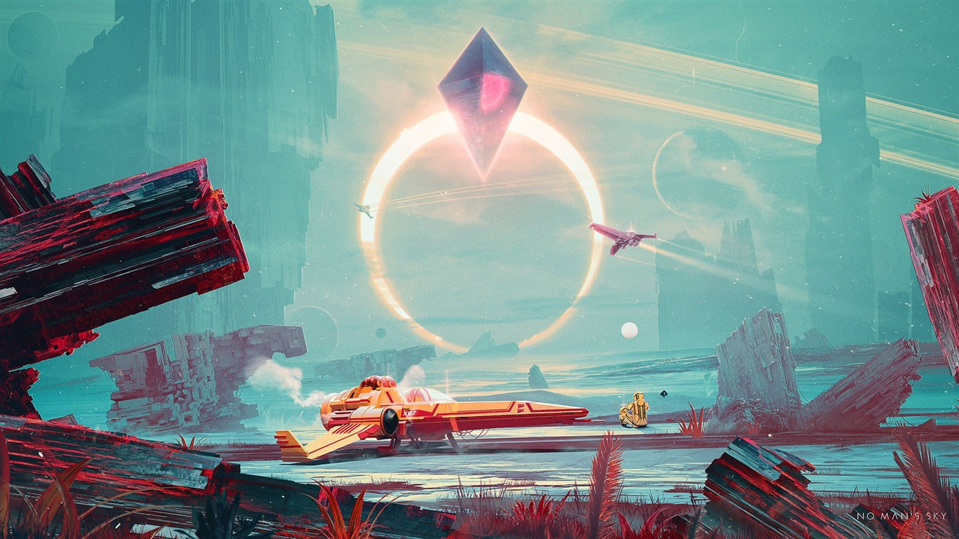 No mans sky-Game Posters HD Wallpaper