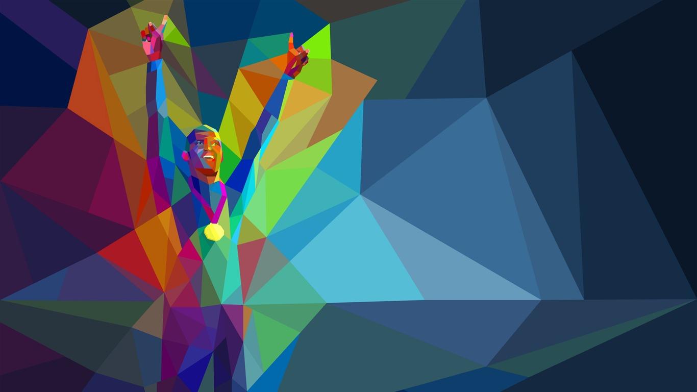 リオ16年オリンピックのhdのベクトル壁紙プレビュー 10wallpaper Com
