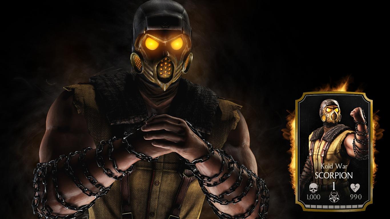 Scorpion Mortal Kombat X Game Posters Hd Wallpaper Preview