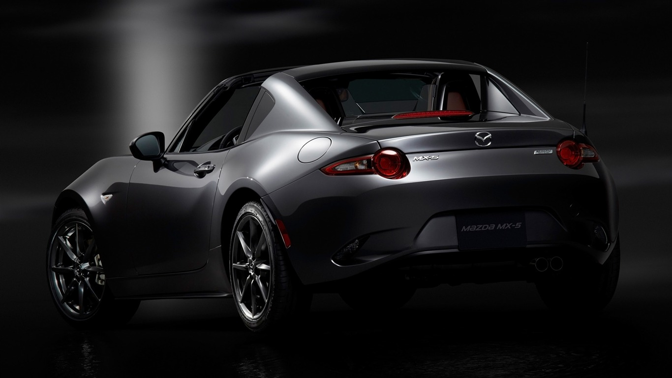 2017 Mazda Mx 5 Rf Auto Poster Hd Wallpaper 10 Avance