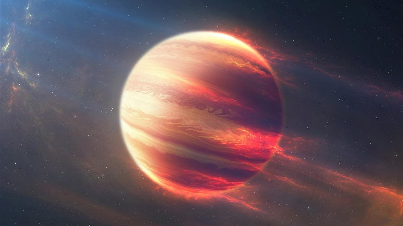 太空火星球宇宙數字高清壁紙預覽 10wallpaper Com