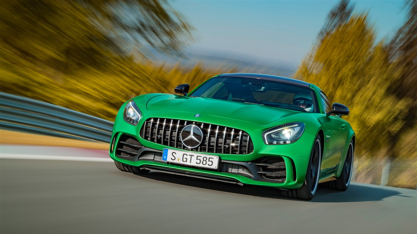 2017 Mercedes Amg Gtr Luxury Auto Hd Wallpaper 04 Preview