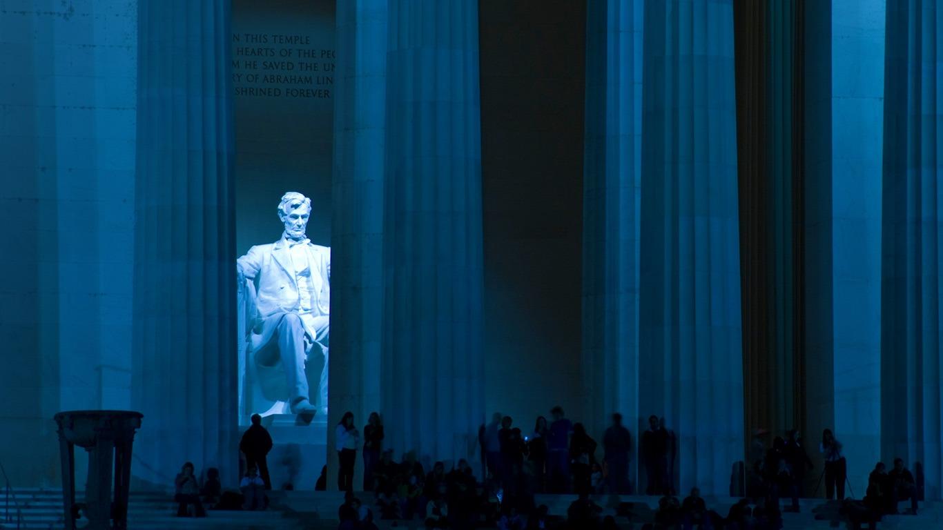 リンカーン記念館ワシントンdc 2016 Bingのテーマの壁紙プレビュー