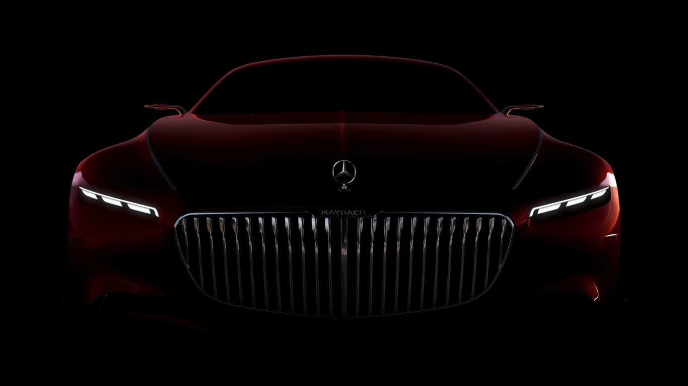 2016 Vision Mercedes Maybach 6 Concept Wallpaper 04 Avance