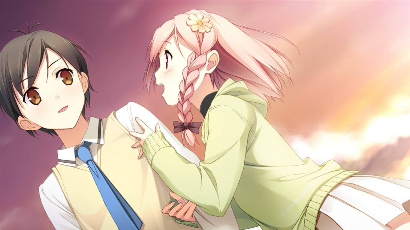 Design Your Anime Character : Your diary kantoku yua boy girl anime character hd wallpaper preview