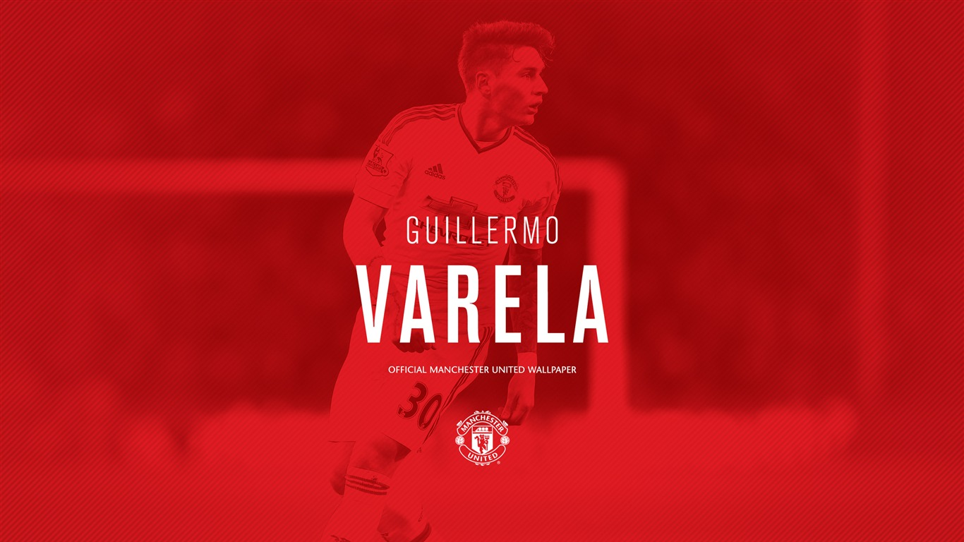 Guillermo Varela 2016 Manchester United Hd Wallpaper Preview