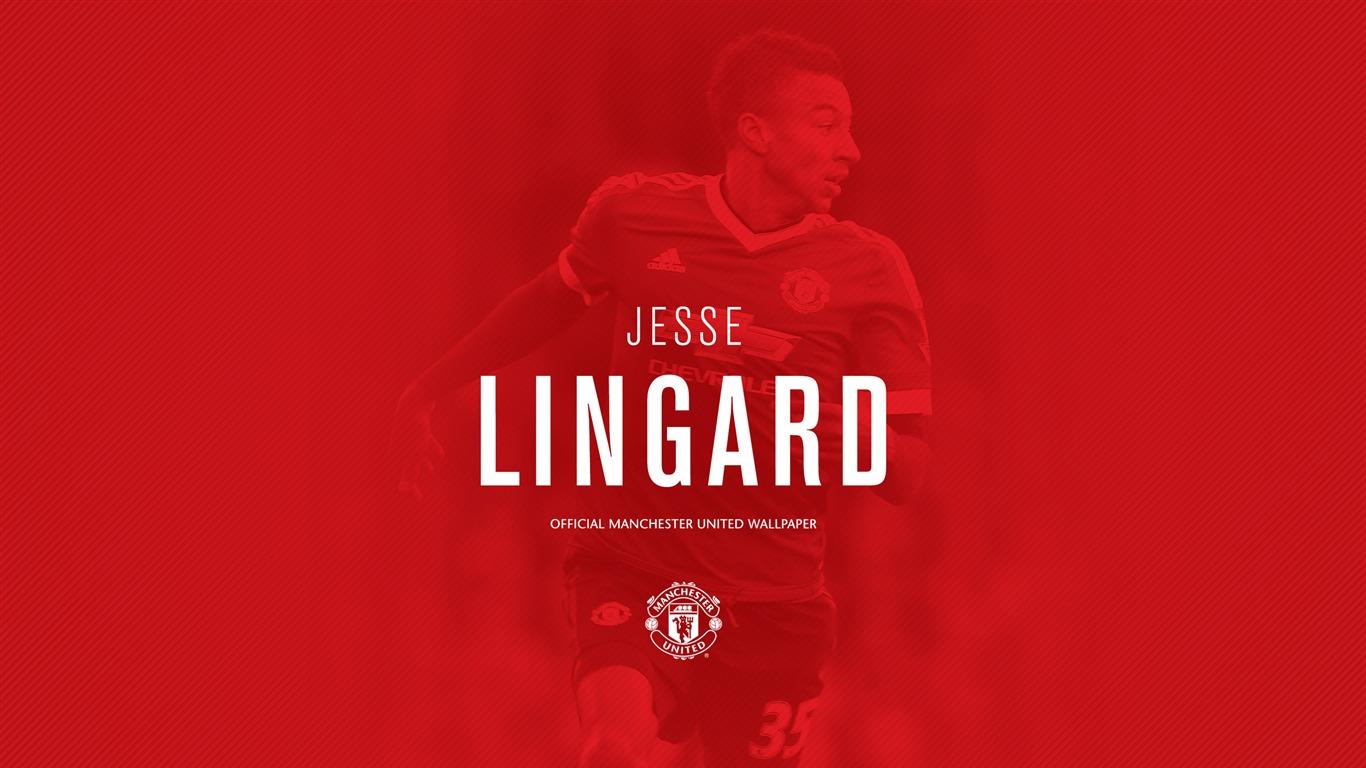 Jesse Lingard 2016 Manchester United Fondo De Pantalla Hd