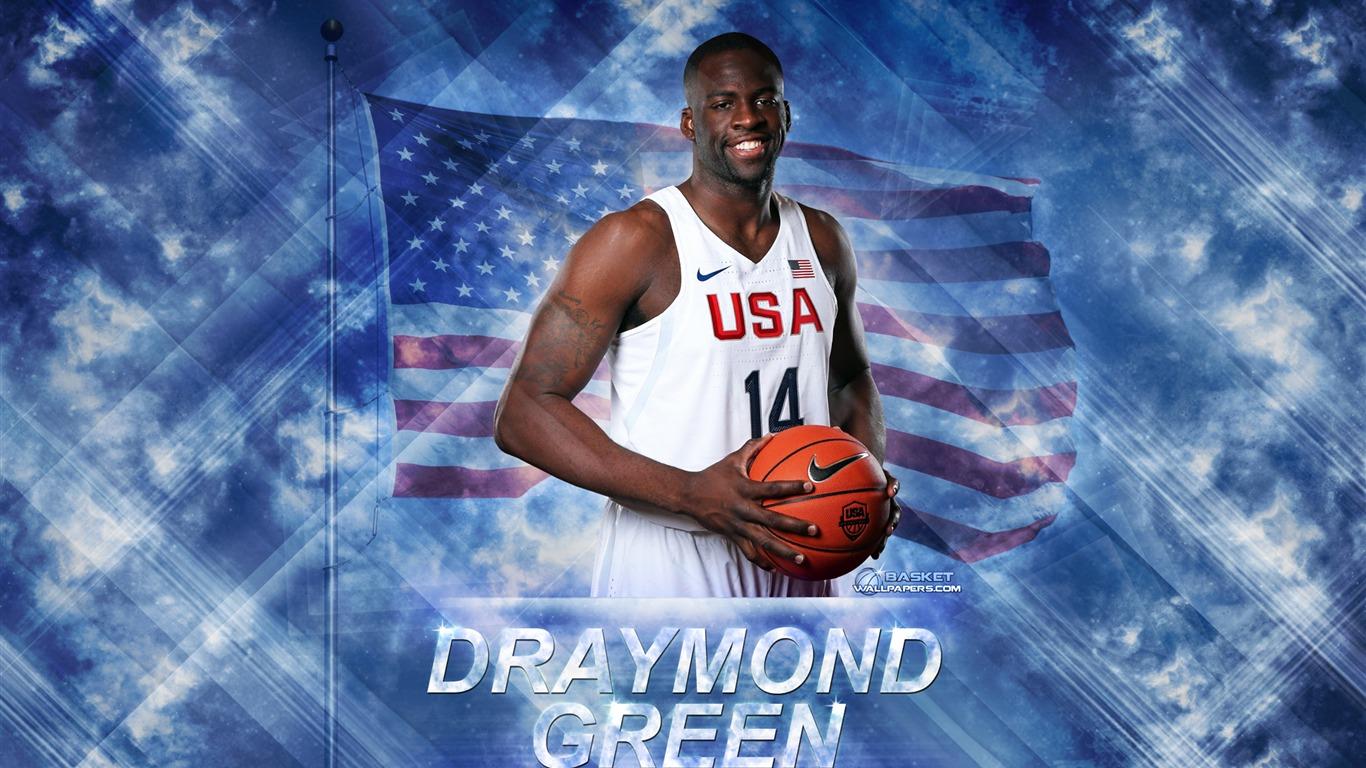 ドレイモンド グリーン 2016バスケットボールスターポスターの壁紙