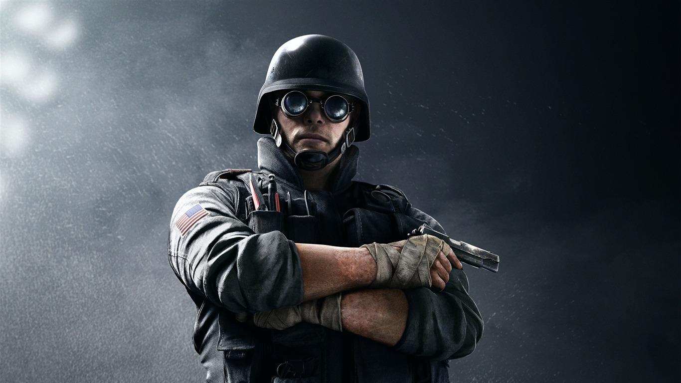 Fbi Swat Thermite Rainbow Six Siege Game Wallpaper Avance