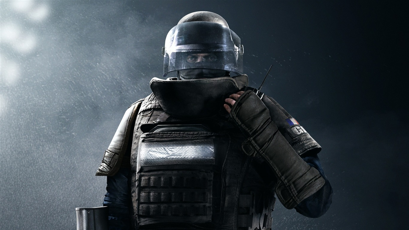 Gign rook-Rainbow Six Siege Game Wallpaper