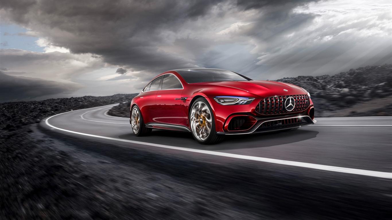 2017 Mercedes Amg Gt Concept Hd Fond D Ecran Apercu