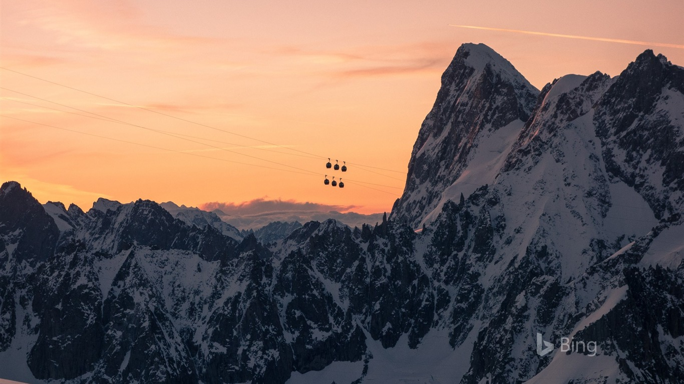 Massif Du Mont Blanc 2017 Bing Fonds D Ecran Apercu 10wallpaper Com
