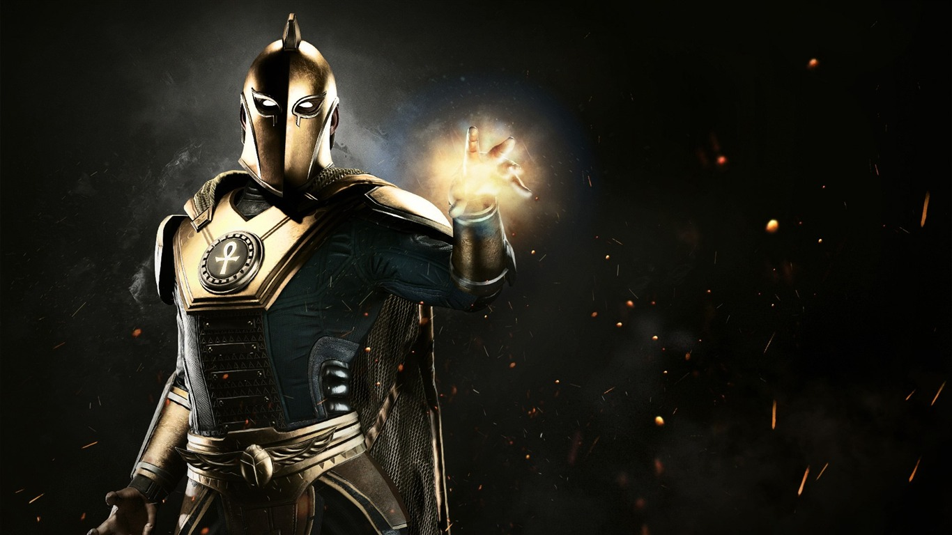 Injustice 2 Doctor Fate 2017 Game Hd Wallpaper Preview