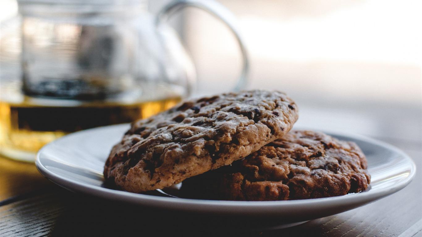 クッキービスケットケーキペストリー 食品のテーマのhd壁紙プレビュー