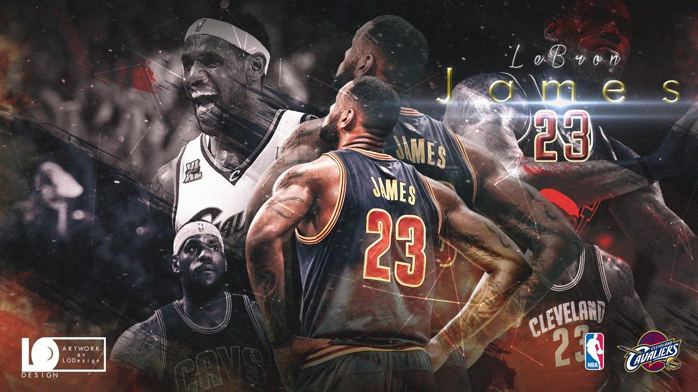 巴西队阵容_勒布朗詹姆斯季后赛-2017年NBA海报壁纸预览 | 10wallpaper.com