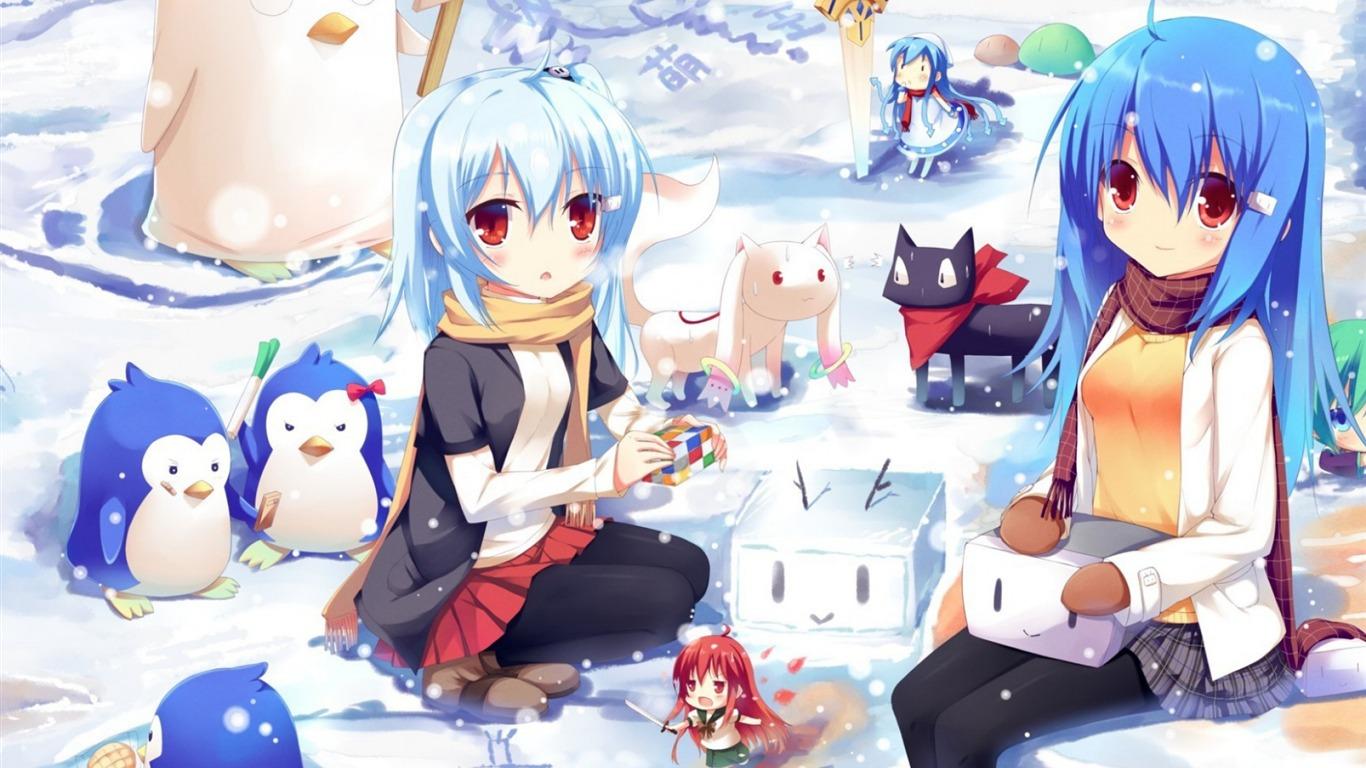 Magica Gintama Mawaru Penguindrum Personajes De Anime Hd