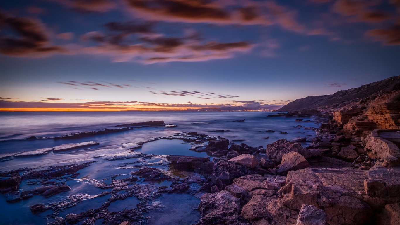 マヨルカ島の夕暮れ 美しい風景の壁紙プレビュー 10wallpaper Com