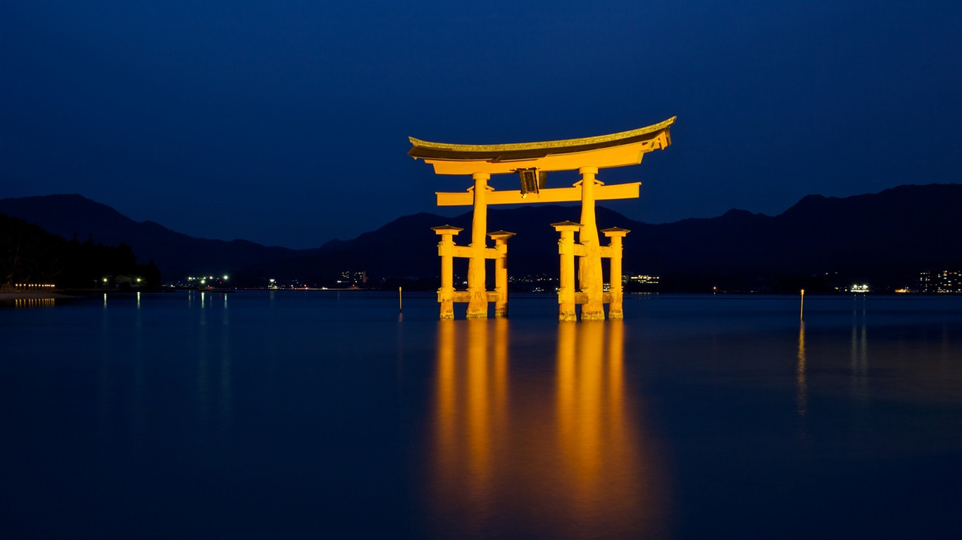 itsukushima shrine-Photography fondo de pantalla HD