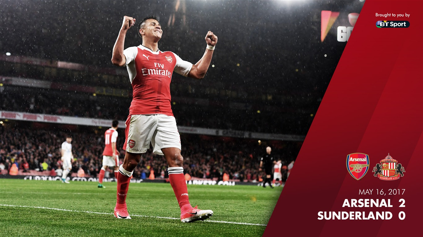 ARSENAL_2-0_SUNDERLAND-Arsenal_2017_Wallpaper2017.8.13