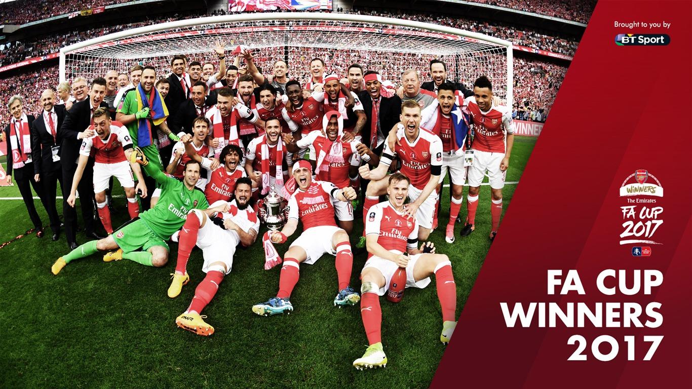 伦敦奥运会足球冠军_阿森纳俱乐部足总杯冠军2017年壁纸预览 | 10wallpaper.com