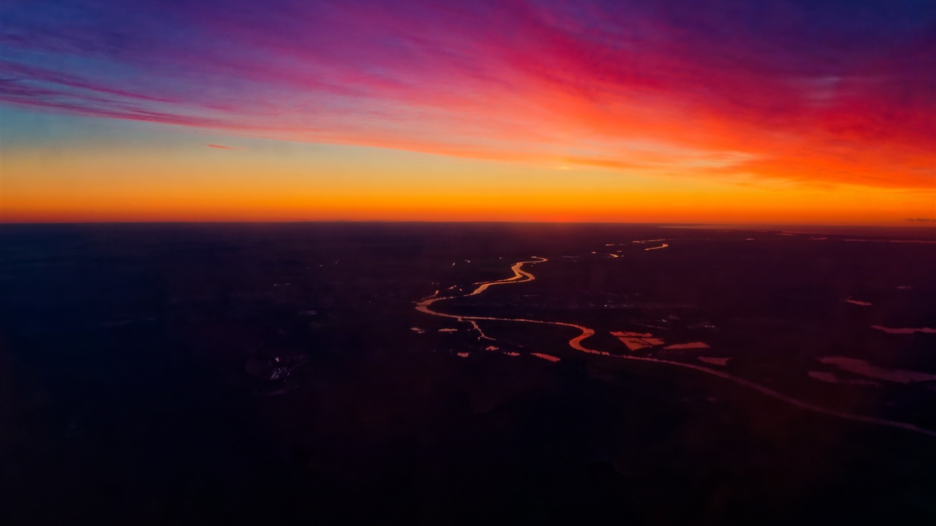Sunset Sky Horizon Scenery Hd Wallpaper Preview 10wallpaper Com